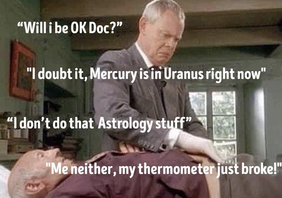 Mercury is in Uranus