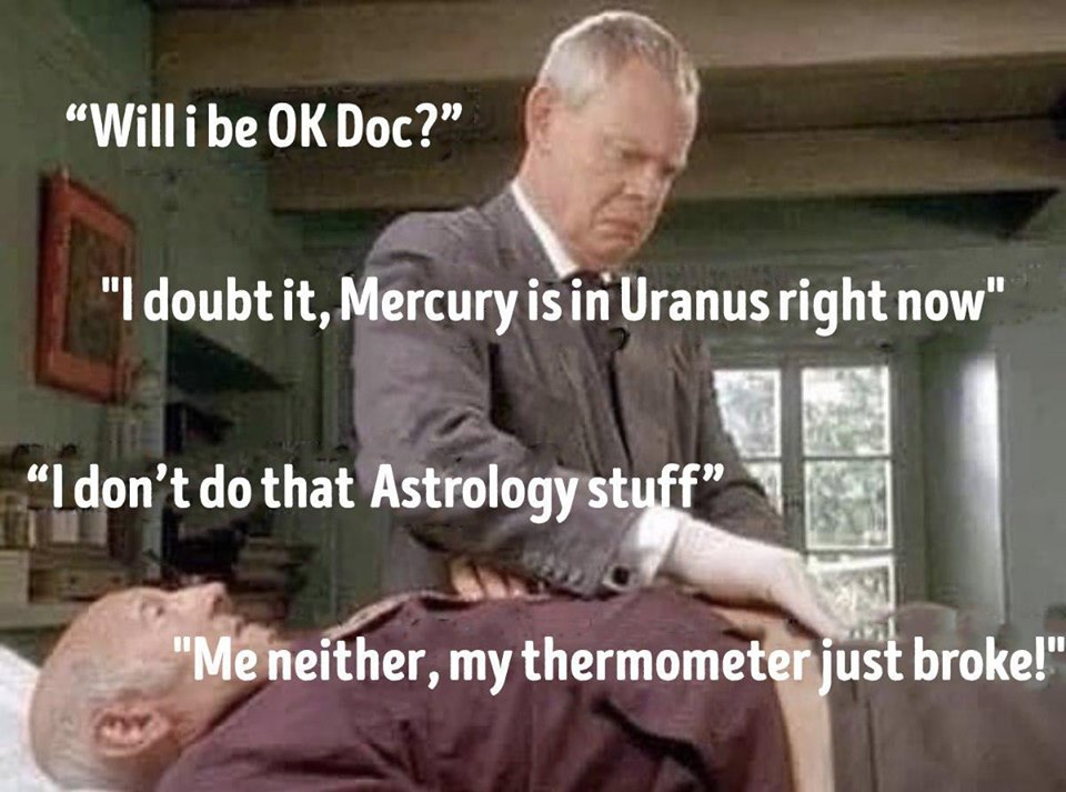 Mercury is in Uranus right now