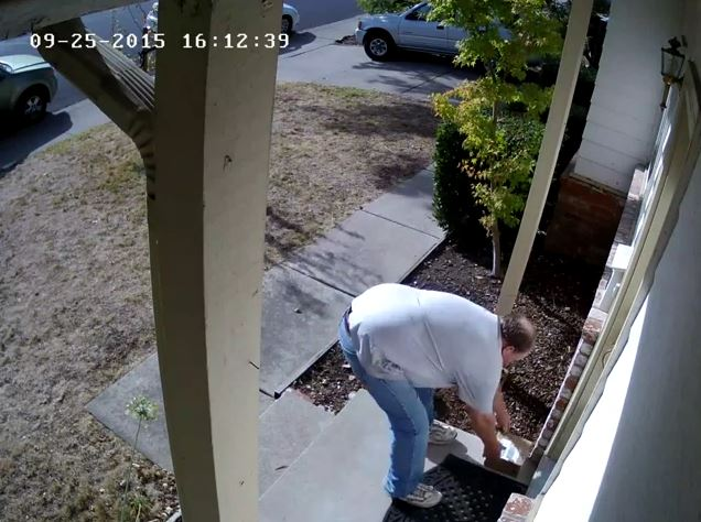 Epic Victim Win: Package thief has purse stolen! (4 angles)