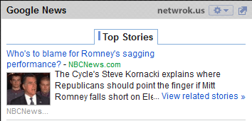 Who's to blame for Romney's sagging performance?