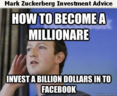 Mark Zuckerberg Investment Advice