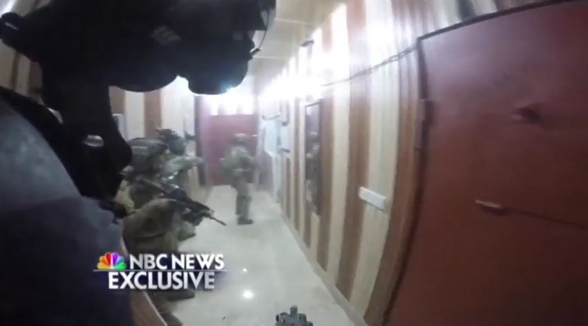 Helmet Cam: Delta Force raid on ISIS prison