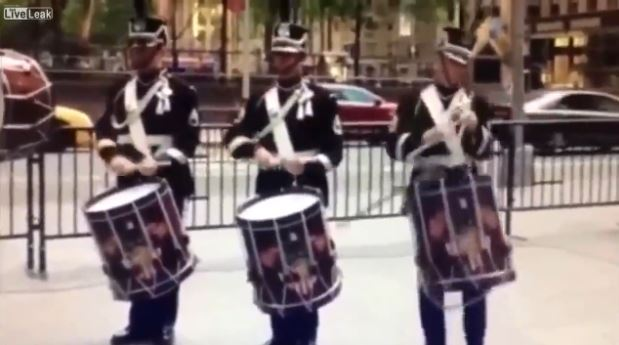Fox News reporter almost kills drummer with throwing axe