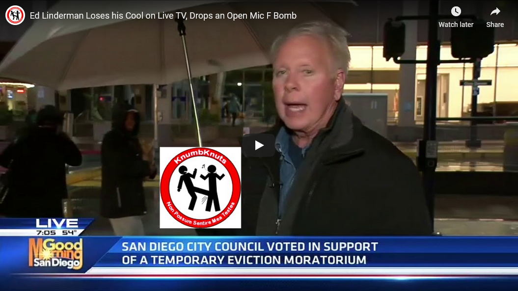 Good Morning San Diego Reporter Drops F-Bomb on Open Mic