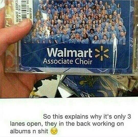 Why Walmart only has 3 lanes open