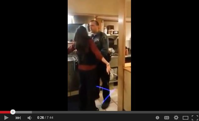 Drunk/disorderly/trespassing woman arrested at IHOP