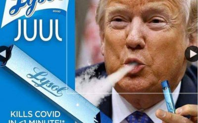 Lysol Juul by Donald Trump